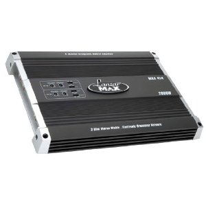 LANZAR MXA414 2000 Watt 4 Channel Bridgeable MOSFET Amplifier