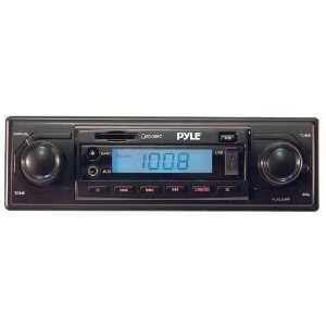 PYLE PLR22MPF AM/FM-MPX MP3 Playback with USB/SD/AUX-In