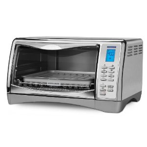 Black & Decker  CTO4550SD 6-Slice Digital CounterTop Convection Oven with Pizza Bump, Stainless Steel