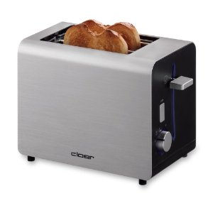 Cloer 5053519 2-Slice Toaster with LED Light