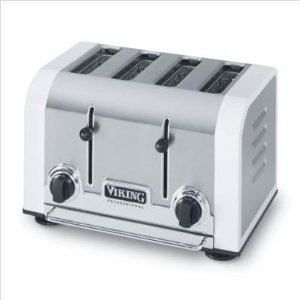 Viking VT401WH Professional White Toaster 4-slice