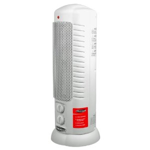 Soleus Air HC7-15-01 Oscillating Ceramic Tower Heater, White