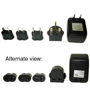 Jiffy Travel Voltage Converter and Adaptor Set for Jiffy Esteam