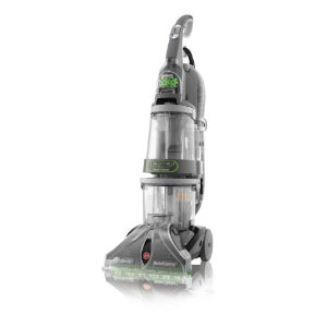 Hoover SteamVac Dual V Widepath Carpet Cleaner with Powered Handheld Tool, Black, F7412-900