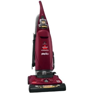 Bissell PowerGlide Platinum Upright Vacuum, Bagged, Wine Red, 3545-2