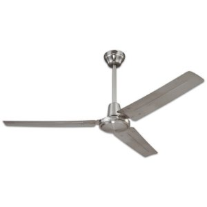 Westinghouse 78614 56-Inch Industrial Ceiling Fan, Brushed Nickel