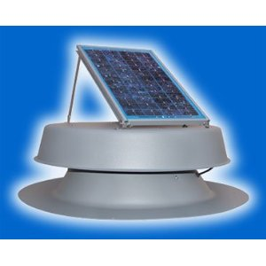 Solar Attic Fan with 25-year Warranty!