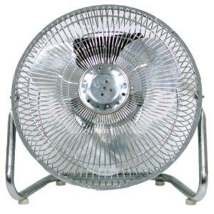 Optimus F-4092 9-Inch Industrial-Grade High-Velocity 3-Speed Fan