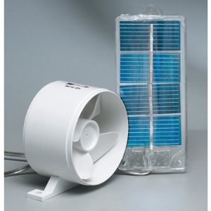 Solar Frideg Exhaust Fan