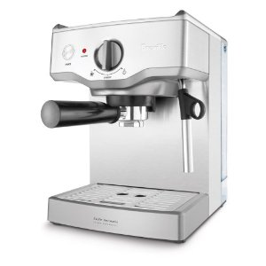 Breville BES250XL Cafe Venezia 15-Bar Stainless-Steel Espresso Machine