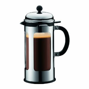 Bodum Chambord 8 Cup Double Wall Thermal Coffee Maker with New Locking Lid System, 1.0, 34-Ounce.