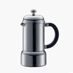 Bodum Chambord 12oz Stainless Steel 6 Cup Stovetop Espresso Maker