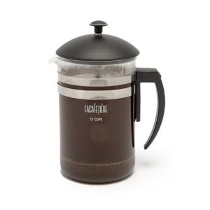 LaCafetiere Havana Coffee Press, Black