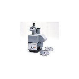 Commercial Food Processor, Continuous Feed Kit & 2 Plates, No Bowl