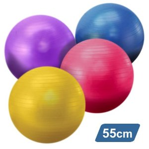 YogaAccessories (TM) Yoga Balance Ball with Pump