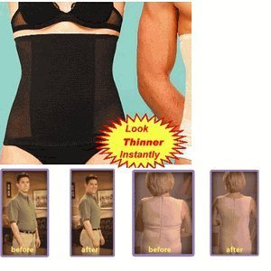 Tummy Trimmer, Black, Size XS