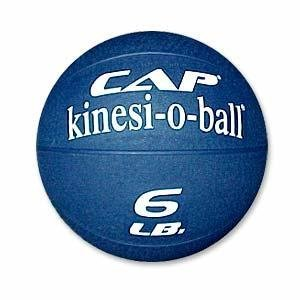 Cap Barbell Medicine Ball (Blue, 6lb)