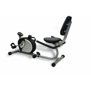 Elite Fitness Deluxe Recumbent Exercise Bike