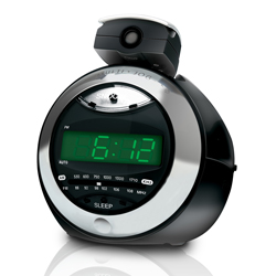 Coby cra79 clock radio  digital projection