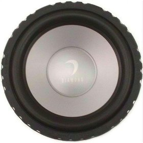 Diamond Audio D610D4 Car Audio Sub Woofer Dual 4 Ohm Speaker