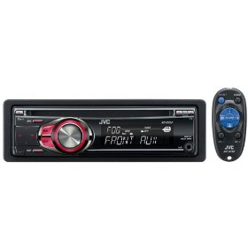 JVC KDR208 MOBILE AM/FM/CD/MP3/50WX4HAS THE LOOK OF KDR300