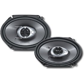 Kenwood KFC-C6882IE 6-Inch x 8-Inch 240-Watt Max Power Two-Way Custom Fit Speaker system