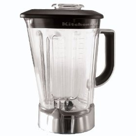 KitchenAid KSB56POB Blender Jar with Black Lid