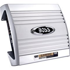 Boss CX650 Chaos Exxtreme 1000 Watts 4-Channel MOSFET Power Amplifier