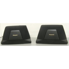 Panasonic SB-PS60A Home Theater Rear 30 Watt Wall Mountable Speaker (Pair)