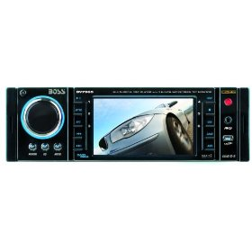 Boss BV7965 3.6-Inch In-Dash Widescreen Touchscreen TFT Monitor/DVD/MP3/CD Receiver