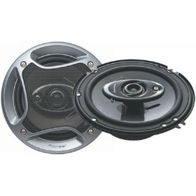 Pioneer Mobile TS-A1672R 6 1-2 Inch 3-Way Car Speakers