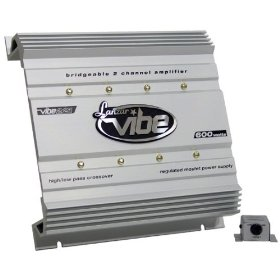 LANZAR VIBE221 2 Channel 600 Watts High Power MOSFET Amplifier