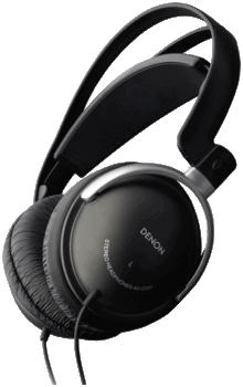 Denon ahd301k black headphone
