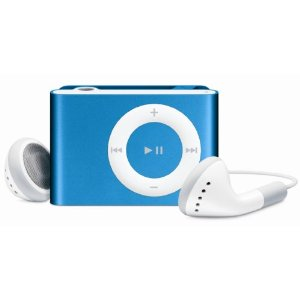 Apple iPod shuffle 1 GB Bright Blue (2nd Generation) OLD MODEL