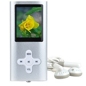 4GB USB 2.0 MP3 Digital Music/Video FM Player & Voice Recorder w/1.8
