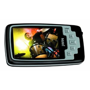JWIN JXMP342 2GB 2.4-Inch Color LCD Video MP3 Player with FM Radio and Micro SD Slot