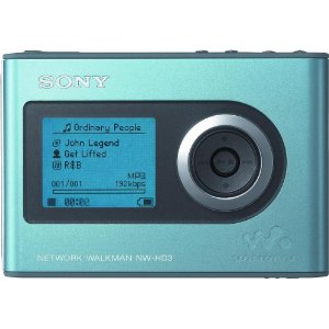 Sony NW-HD3 Network Walkman 20 GB Digital Music Player (Blue)
