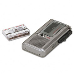 Sony m570v recorder micro cassette voice activated