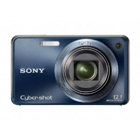 Sony Cyber-shot DSC-W290 12 MP Digital Camera with 5x Optical Zoom and Super Steady Shot Image Stabilization (Dark Blue)