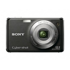Sony Cyber-shot DSC-W230 12 MP Digital Camera with 4x Optical Zoom and Super Steady Shot Image Stabilization (Black)