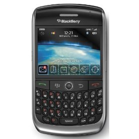 BlackBerry Curve 8900 Javelin Unlocked Phone with 3.2 MP Camera, GPS, Stereo Bluetooth, Media Player, and MicroSD Slot--International Version with No Warranty (Black)