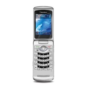 Blackberry 8220 Flip Pearl Unlocked GSM Phone (Silver)