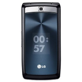 LG KF300 Wine Unlocked Phone with Tri-Band GSM--International Version with Warranty (Black)