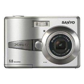 Sanyo vpcs60 camera  digital 6mp aa