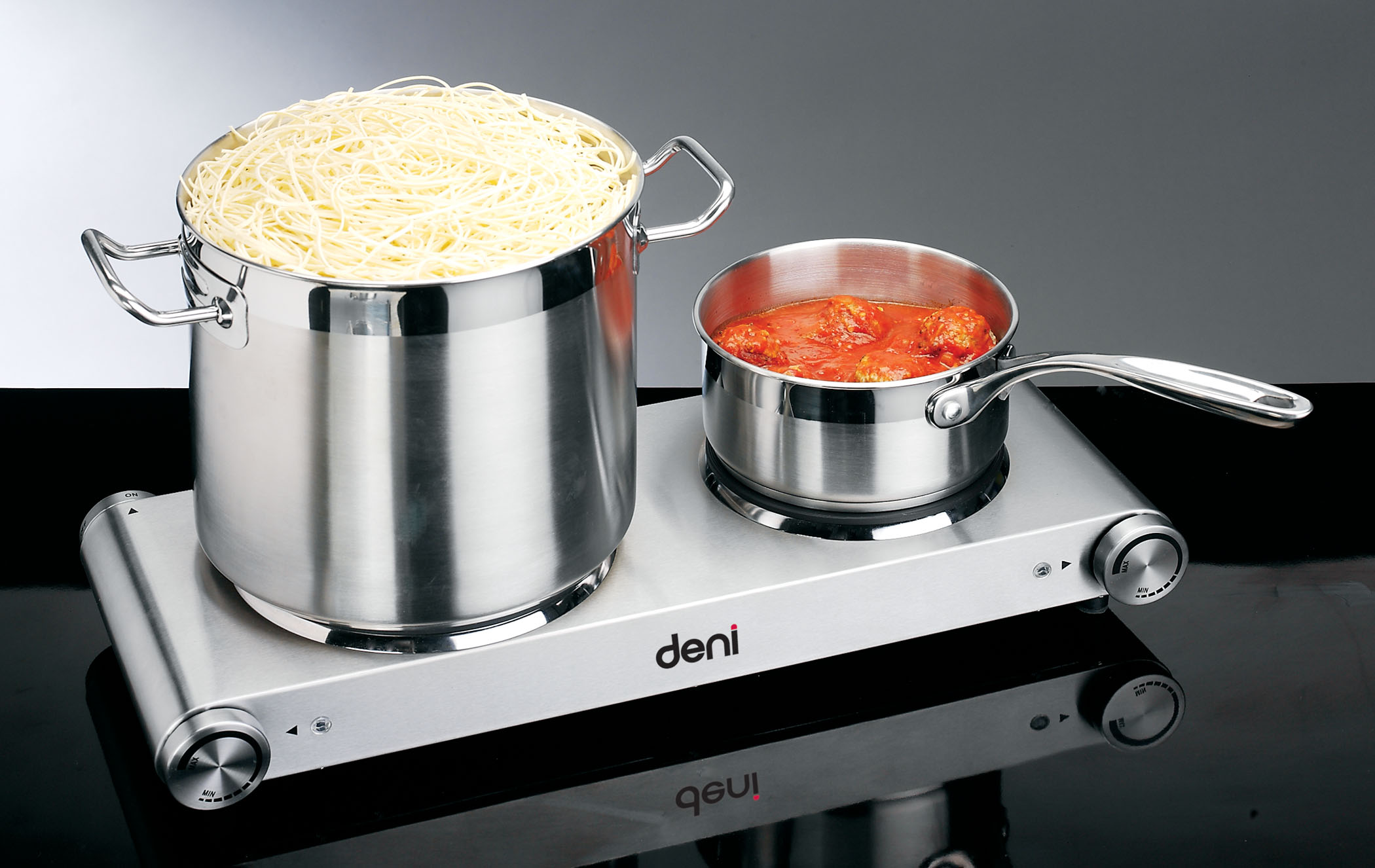 Deni 16320 table top burner  double plate