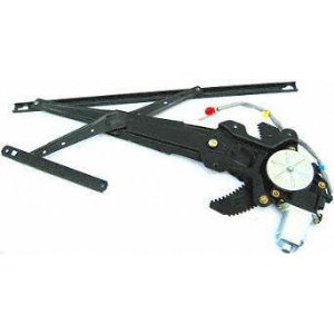 96-00 HONDA CIVIC FRONT WINDOW REGULATOR RH (PASSENGER SIDE), Power, w/motor 2DR (1996 96 1997 97 1998 98 1999 99 2000 00) H462905 72211SR3J01+