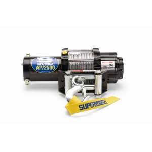 Superwinch 1125200 ATV2500 Series  4-way Roller Fairlead Winch