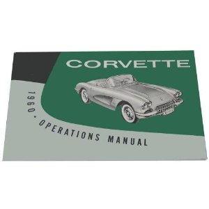 1960 Corvette Owner's Manual
