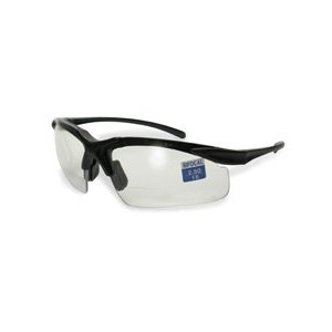 Apex Bifocal Clear Safety Glasses (2.0 Magnification)