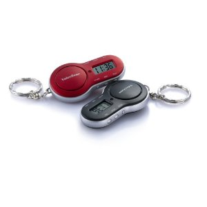 VOICE MEMO PARKING TIMER KEYCHAINS (colors may vary)